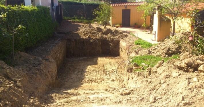 Hacemos excavaciones para piscinas en Madrid